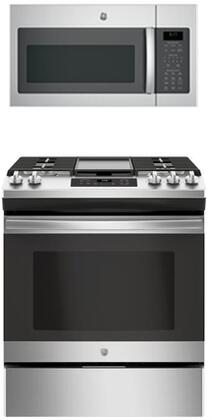 GE 845696 Kitchen Appliance Package & Bundle Stainless Steel, 1