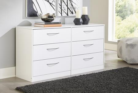Signature Design by Ashley Finch EB108744A Dresser White, LifeStyle View