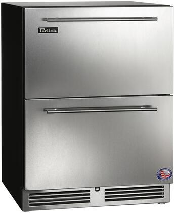 Perlick ADA Compliant HA24FB45 Drawer Freezer Stainless Steel, Main Image