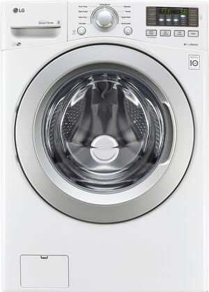 LG WM3270CW Washer White, Main Image