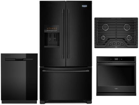 Maytag  1010037 Kitchen Appliance Package Black, main image