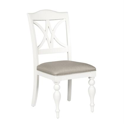 Liberty Furniture Summer House 607C9001S Dining Room Chair White, Main Image