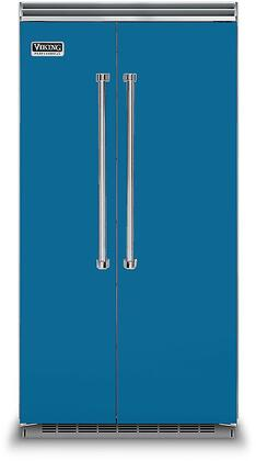 Viking 5 Series VCSB5423AB Side-By-Side Refrigerator Blue, VCSB5423AB Side-by-Side Refrigerator