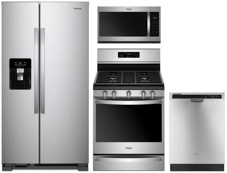 Whirlpool 1125634 Kitchen Appliance Package & Bundle Stainless Steel, main image