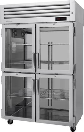 PRO-50-4H-G 52″ Pro Series Glass Half Door Heated Cabinet with 48.7 cu. ft. Capacity  Digital Temperature Control & Monitor System  Ducted Fan Air