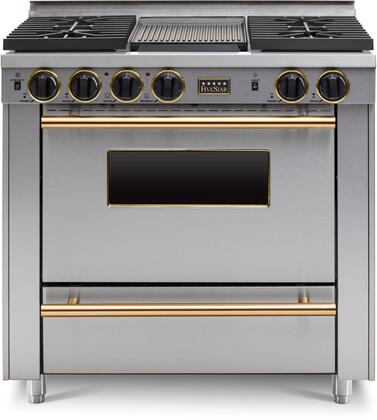 FiveStar  TPN3327BSW Freestanding Gas Range Stainless Steel, TPN3327BSW Sealed Burner Gas Range