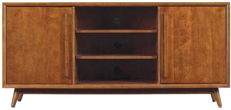Bello Leawood TC546166M333 52 in. and Up TV Stand Brown, TV Stand