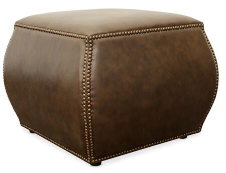 Hooker Furniture CO Series CO501087 Living Room Ottoman Brown, Silo Image