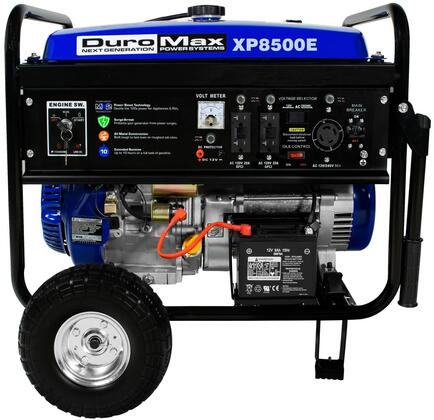 DuroMax XP8500E 8500Watt 16-Hp Gas Generator with Electric Start and Wheel Kit