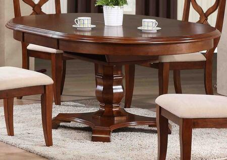 Sunset Trading Andrews DLUADW4866CT Dining Room Table Brown, DLU ADW4866 CT