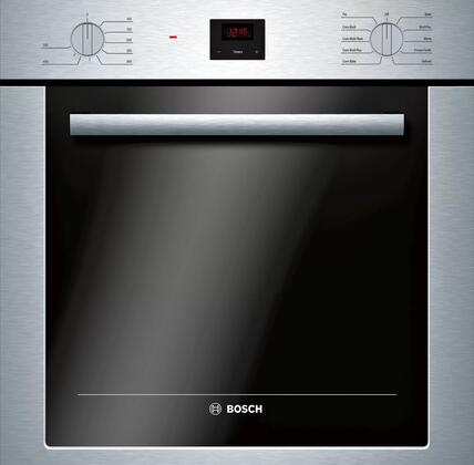Bosch 500 Series HBE5453UC Single Wall Oven Stainless Steel, Main Image