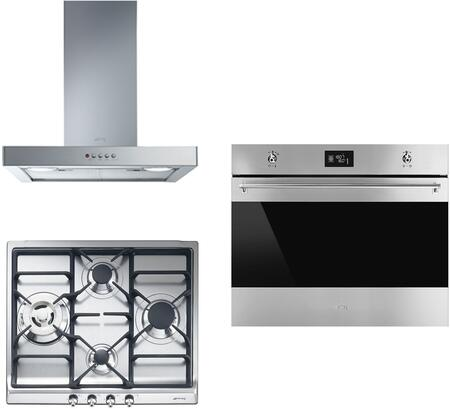 Smeg 890394 Kitchen Appliance Package & Bundle Stainless Steel, main image