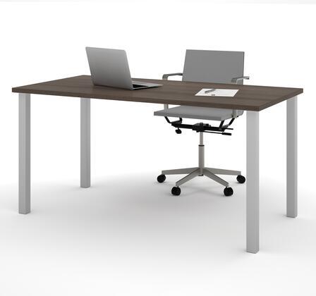 Bestar Furniture BESTAR 6586552 Office Desk Brown, Main View
