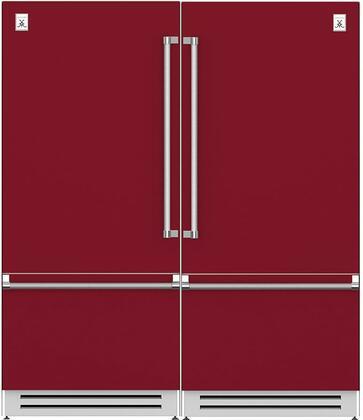 Hestan  916480 Refrigerator Pairs Red, 1