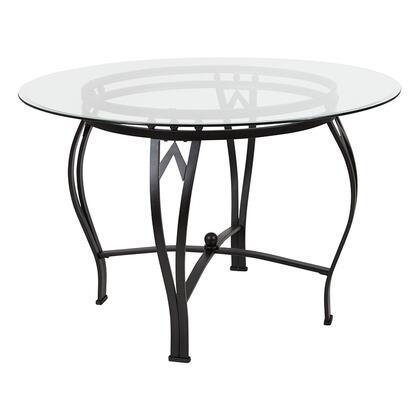 Flash Furniture Syracuse XUTBG11GG Table Black, XU TBG 11 GG