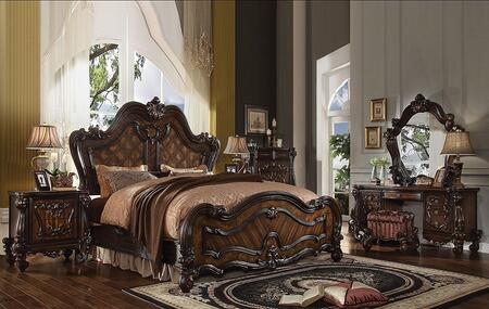 Acme Furniture Versailles 6 Piece King Size Bedroom Set
