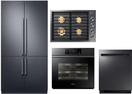 Dacor  938849 Kitchen Appliance Package Graphite Stainless Steel, Main image