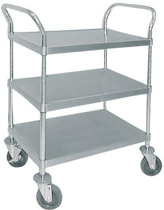 Advance Tabco UC31827X Commercial Food and Beverage Service Carts Stainless Steel, Utility Cart