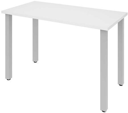 Bestar Furniture BESTAR 6585517 Office Desk White, Main View