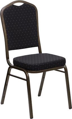 Flash Furniture Hercules FDC01GOLDVEINS0806GG Accent Chair Black, FDC01GOLDVEINS0806GG side