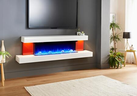 Evolution Fires Alpha EFARGP Fireplace Red, EFARGP side
