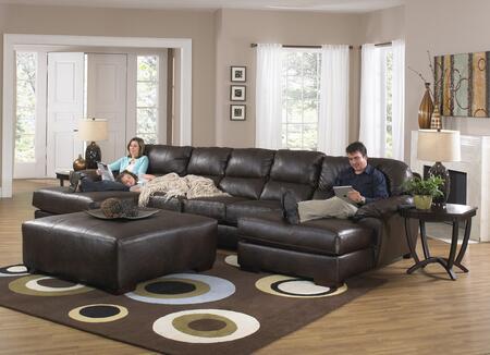 Jackson Furniture Lawson 4243753076122329302329 Sectional Sofa Brown, Main Image