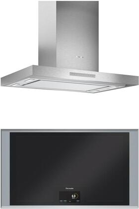 Thermador Masterpiece 1071285 Kitchen Appliance Package Black, main image