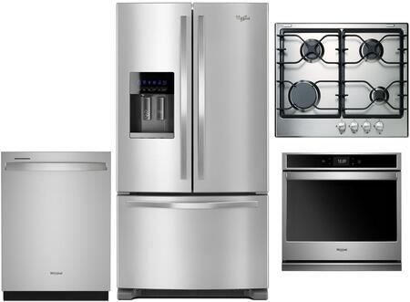 Whirlpool 1017437 Kitchen Appliance Package & Bundle Stainless Steel, main image