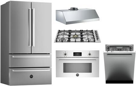 Bertazzoni 1054803 Kitchen Appliance Package & Bundle Stainless Steel, main image