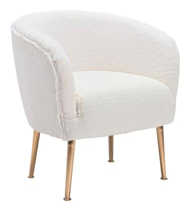 Zuo Sherpa 101868 Accent Chair Beige, 101868 1