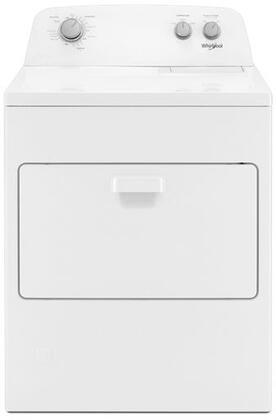 Whirlpool  WGD4850HW Gas Dryer White, Main Image