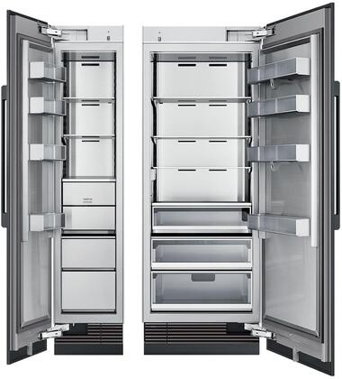 Dacor  975409 Column Refrigerator & Freezer Set Panel Ready, Custom Panels and Handles Not Included