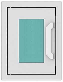 AGPTD16-TQ 16″ Bora Bora Turquoise Paper Towel Dispenser with Marquise Accent