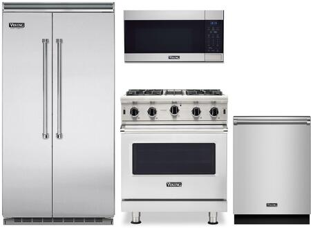 Viking 5 Series 1310859 Kitchen Appliance Package Stainless Steel, Main image