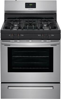 Frigidaire  FCRG3051AS Freestanding Gas Range Stainless Steel, Main Image