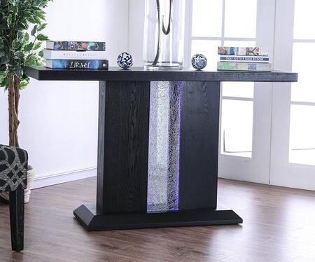 Furniture of America Tobias CM4252S Sofa Table Black, Main Image