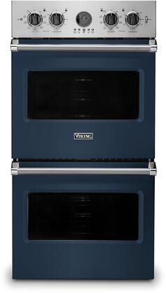 Viking 5 Series VDOE527SB Double Wall Oven Blue, VDOE527SB Electric Double Wall Oven