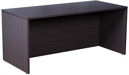 N101-DW Desk Shell  71″W X 36″D