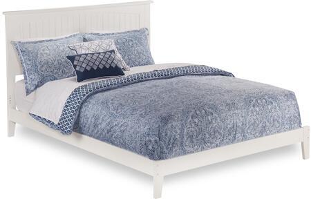 Atlantic Furniture Nantucket AR8251002 Bed White, AR8251002 SILO DETAIL(F)
