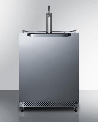 Summit  SBC695OSCF Beer Dispenser Stainless Steel, SBC695OSCF Outdoor Coffee Kegerator
