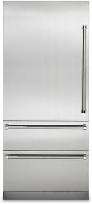 Viking 7 Series VBI7360WLSS Bottom Freezer Refrigerator Stainless Steel, Main Image VBI7360WLSS