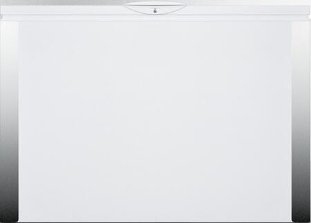 EQTemp  EQFF152 Chest Freezer White, Main Image