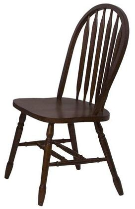 Sunset Trading Sunset Selections DLU820BCH2 Dining Room Chair Black, 1