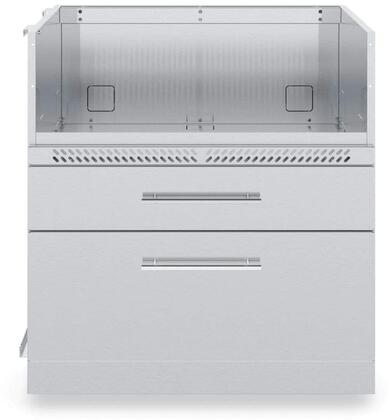 805400 4-Burner Base Cabinet in Stainless