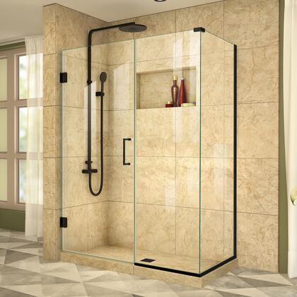 DreamLine  SHEN2449030009 Shower Enclosure , Unidoor Plus Shower Enclosure RS39 30D 22IP 30RP 09