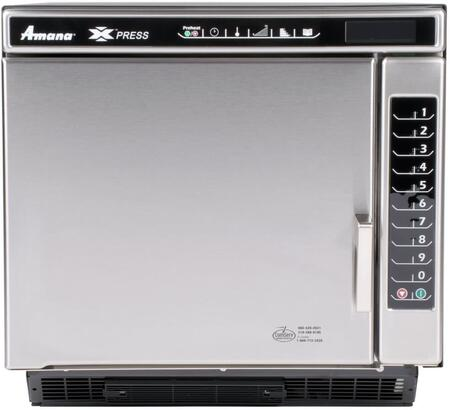 Amana ACE14N Commercial Combination Oven Stainless Steel, Main Image