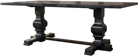 Acme Furniture Morland 74645 Dining Room Table Black, 1