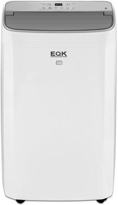 EAPH10RSC1 Smart Portable Air Conditioner with 10000 BTU Heating and Cooling BTU Wifi Controls Auto Air Louvers Omni Directional Casters