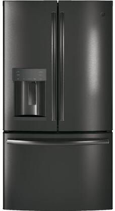 GE  GFD28GBLTS French Door Refrigerator , Front