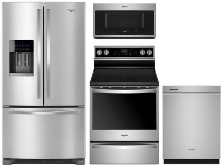 Whirlpool 1127404 Kitchen Appliance Package & Bundle Stainless Steel, main image